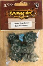 Warmachine Gale Force Nine Gorten Grundback Gf9 50502 New