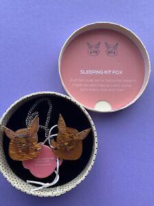 ERSTILDER BROOCH - Sleeping Kit Fox
