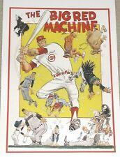 Cincinnati Reds Big Red Machine Poster - Pete Rose, Joe Morgan, Johnny Bench