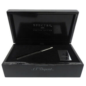 S.T. Dupont Fountain Pen 007 James Bond Specter  14k F Size Limited Edition