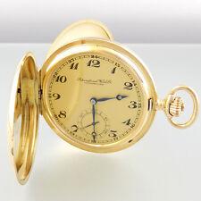 IWC Savonette Taschenuhr - Handaufzug - 14k Gold