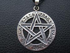 Tetragrammaton 925'er Silber Anhänger + Geschenkbox + Band Gothic etNox / KA 300
