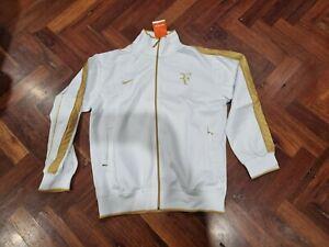 Nike Roger Federer  white & Gold Wimbledon Jacket - XL