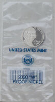 USA 5 Cents Nickel 2020 W proof / pp