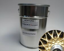 2L Basecoat Spray Finish RAL 1036 Pearl Gold Metallic Gold BBS Tuning Car paint