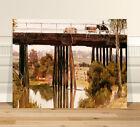 "Classic Australian Fine Art ~ CANVAS PRINT 36x24"" Gardiners Creek Tom Roberts"