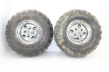 2005 Arctic Cat 650 V2 Rear Wheel Set Rims Tires
