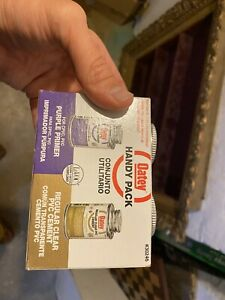 Oatey  Handy Pack  Clear/Purple  Primer and Cement  For PVC 4 oz.