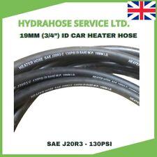"Car Heater Hose 19mm 3/4"" Radiator Coolant Hose EPDM SAEJ20R3 Engine Water Pipe"