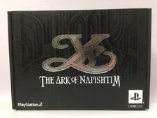 PlayStation2 PS2 Ys The Ark of Napishtim Limited Edition Box JAPAN JP GAME. 4450