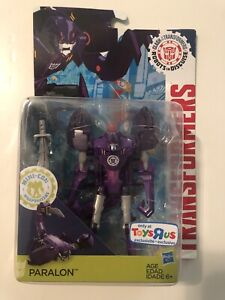 TOY S RUS EXCLUSIVE Transformers Robots In Disguise Clash DECEPTICON PARALON
