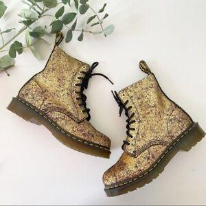 New Dr. Martens 1460 Pascal Crackle Boots Shoes Sz 7