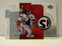 2001-02 Upper Deck Top Shelf Stick #S-DH Dominik Hasek (Game Used Stick)