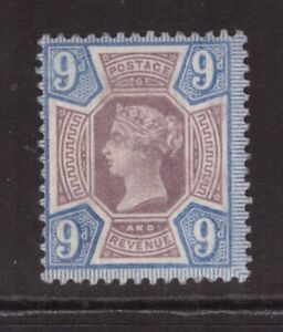 Queen Victoria 1887 Jubilee 9d SG 209 MINT NEVER HINGED MNH