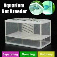 Aquarium Aquarium Net Fall Züchter Inkubator Zucht Fry Frame Isolation Box V5X2