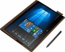"""HP Spectre Folio 13.3"""" (8GB,256GB,Intel Core I7 8th Gen.,1.50GHz,8GB) Laptop - Brown - 13-AK0013DX"""