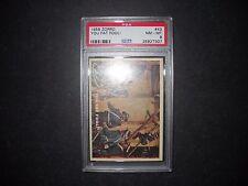 1958 ZORRO CARD #43  TOPPS  *GRADED PSA 8*  (ONLY 2 HIGHER)