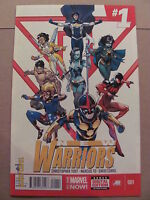 New Warriors #1 Marvel Now 2014 Series Scarlet Spider Nova 9.6 Near Mint+