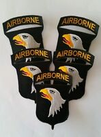 Lot of 5 patches 101st AIRBORNE US WWII REPRO
