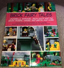 Brick Fairy Tales : Cinderella, Rapunzel, Snow White and the Seven Dwarfs Book