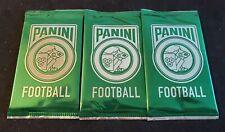 2017 Panini Kickoff Football Promo Lot (3) Green Packs - (1) Thick (2) Thin