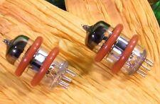 ♫ 4 ANNEAUX SILICONE TUBES ECC 88 / ECC 83 / 12AX7 / 12AU7 / 12AT7 / 12BH7 ♫