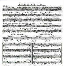 3 Serviettes en papier Cocktail Musique Adagio Partition Paper Napkins Music