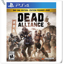 PS4 Dead Alliance Sony PlayStation Maximum Action Games