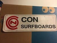 Orig VTG 1960-80s Surf Sticker(hawaii,t&c,HIC,Surfing,nos,decal)Con Surfboards