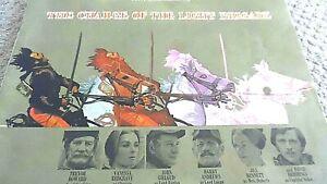 THE CHARGE OF THE LIGHT BRIGADE (1968) CINEMA FILM MOVIE SOUVENIR BROCHURE