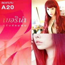 Berina Permanent Hair Dye Color Cream # A20 Ruby Red Color Made in Thailand