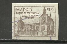 1786-SELLO FISCAL LOCAL MADRID CONSEJO MUNICIPAL ARBITRIO SOBRE VENTAS.