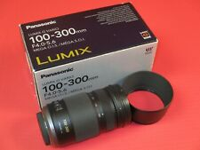 PANASONIC LUMIX G VARIO 100-300MM F/4.0-5.6 II AF OIS LENS | H-FSA100300