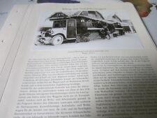 Nutzfahrzeug Archiv 5 Alltag 5786 Schaustellerwagen JAhrmarkt 1921