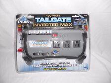 Peak PKC0BO 400 Watt Tailgate Power Inverter New 12 volts DC to 120 Volts AC New