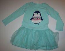New Gymboree Penguin Princess Tulle Skirt Dress Size 5T NWT Enchanted Winter