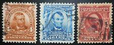 U.S.Stamps:Scott#303- #306, 4c, 5c, & 6c, The Regular Series issues of 1902-1903