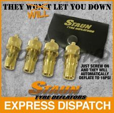 STAUN OFFROAD 4WD TYRE DEFLATORS  6-30 PSI 4X4 RECOVERY 4WD OFF ROAD