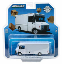 2019 MAIL DELIVERY VEHICLE WHITE 1/64 DIECAST MODEL BY GREENLIGHT 30097