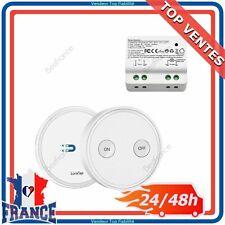 Kit Interrupteur Sans Fil Émetteur + Récepteur Portée 200M Pour Eclairage Maison