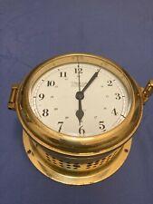 Weems and Plath Endurance Ii 135 Ship's Clock
