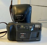 YASHICA T3 SUPER 35MM FILM CAMERA CARL ZEISS TESSAR 35MM F2.8 LENS WITH CASE
