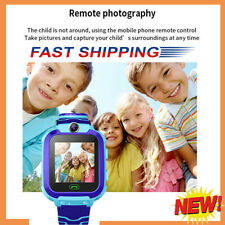 UK Kids Smart Watch Camera GSM SIM SOS Call Phone Game Watches Boys Girls Gift