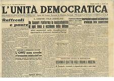 L'UNITA' DEMOCRATICA 23 MAGGIO 1946