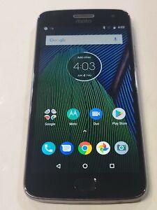 Motorola MOTO G5 Plus, XT1687, 32GB, Gray Unlocked, Great Condition : AA857