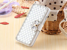 Bling Diamond Leather Case Cover Women Wallet For Google Nexus Pixel/XL S002