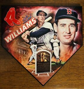 🔥Ted Williams Homeplate Plaque- Boston Red Sox- Hall of Famer🔥 Ebay 1/1