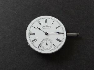 American Waltham AM Watch TU Uhrenwerk Movement Repair no Function Spare Parts