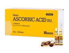 La Corée Huons Acide Ascorbique Vitamine C Anti-Vieillissement 2ml x 50 ampè #fr