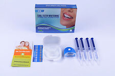 Amazing Smiles Teeth Whitening Pro Kit + White Light Trays Strong Tooth Whitener